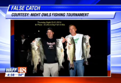 2 Alabam anglers accused of cheating in fishing tournament