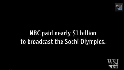NBC paid nearly $1 billion to broadcast the Sochi Olympics | WSJ, not so much. | LouisianaWorld.Net on WordPress.com