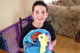 Boy's My Little Pony Backpack Banned From School