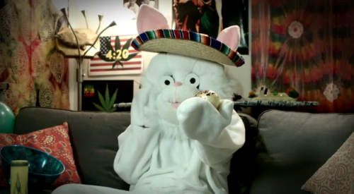If you haven't been too stoned to remember, Happy Easter!
