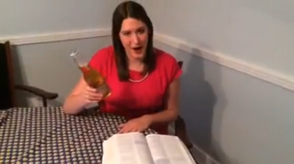 Should booze and the bible mix?