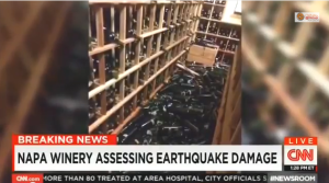 'It's Heartbreaking': CNN Host Mourns 'Hundreds' Of Wine Bottles Broken In Napa Quake