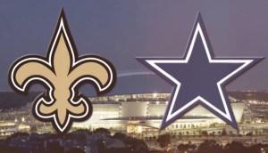 Saints at Cowboys 2014