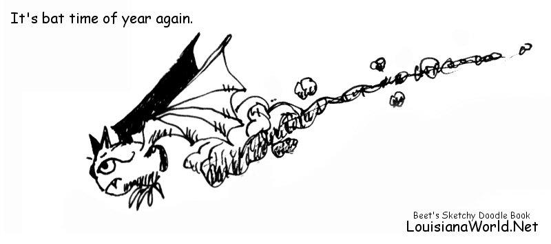 Bat Time   #Louisiana   #jWe   #CenLa  