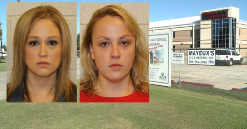 Shelley S. Dufresne and Rachel Respess are both accused of having sex with a Destrehan High School student.