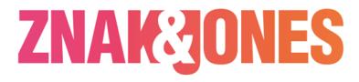 Znak Jones Logo
