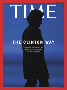 The Clinton Way Hillary Clinton Time Magazine Cover